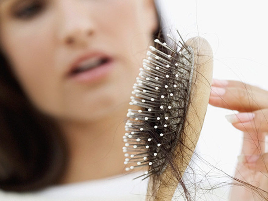 PRP treatment to hair loss