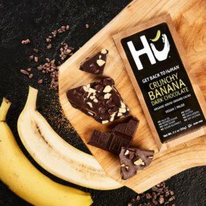 HU Crunchy Banana Chocolate Bar